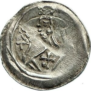 1245AD-FRANCE-Strasbourg-Bishopric-Ancient-Silver-French-Medieval-Coin-i75716
