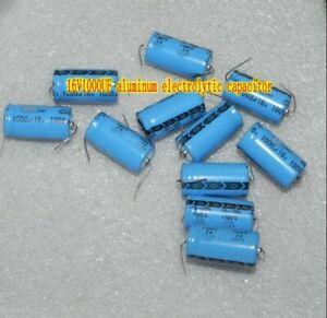 16V1000UF condensatori elettrolitici assiale in alluminio di componenti elettronici