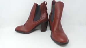 New Womens Merona Pull On Ankle Boot Style 096102908 Brown 192M pr