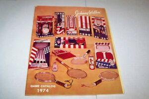 Vintage Catalog #350 - 1974 JOHNNY WALKER - SPORTS BALLS - SUPPLIES
