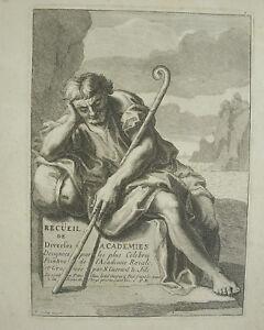 Francois-VERDIER-1651-1730-c1700-COLLECTION-painters-of-l-039-academy-Royale-print