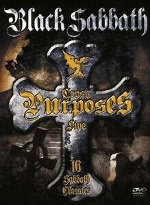 BLACK-Sabbath-Cross-fini-Live-DVD-NUOVO