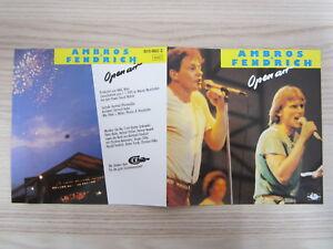CD / WOLFGANG AMBROS +FENDRICH / OPEN AIR / ATOM AUSTRIA / RAR /
