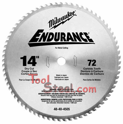 Milwaukee 48-40-4505  Circular Saw Blade 14