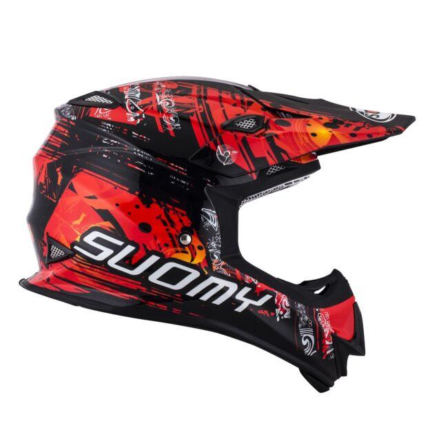 ddd2bd07 Helmet Helm Casque Helmet SUOMY Off-Road MR JUMP Maori Red 2018 KSMJ0035