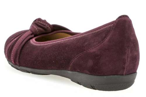 Large Chaussures Gabor Femme Ballerina Rouge In Xxl Size wqHfqB85I