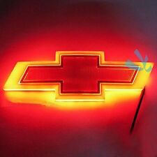 4D Red LED Car Auto Tail Logo Light Badge Lamp Emblem For CHEVROLET CRUZE EPICA