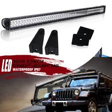 Upper Mount Brackets Straight 52inch LED Light Bar For Dodge Ram 1500//2500 09-14