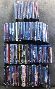 MASSIVE-Blu-ray-DVD-Lot-of-105-DISNEY-Movies