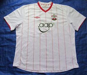 078b48407b6 Saints SOUTHAMPTON FC away jersey by UMBRO 2012-2013 /men/white ...