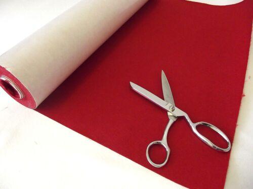 Self Adhesive Felt Baize Fabric Mini Rolls BERRY