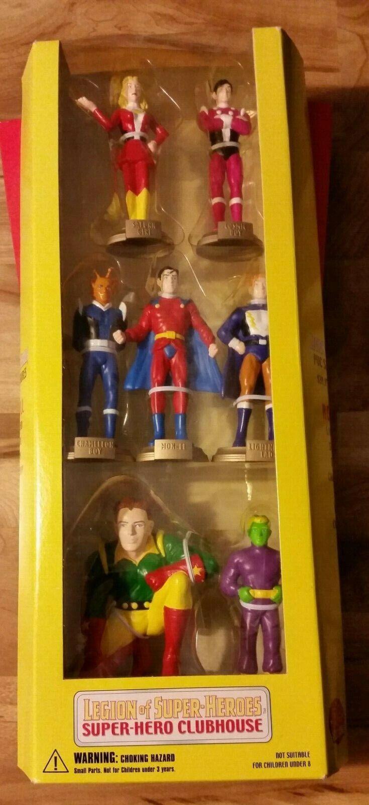 DC LEGIONE DEI SUPEREROI Direct Clubhouse 7 azione cifra Set Nuovo in Scatola 1999