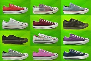CONVERSE-ALL-STAR-New-Lo-Boys-Mens-Ladies-Girls-OX-Trainers-Shoes-Size-UK-3-9