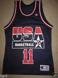 Details about Kevin Johnson #11 USA US Olympics Basketball Suns Champion Jersey 40
