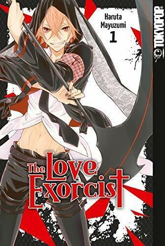 TokyoPop Band 1 Manga ERSTAUFLAGE NEU Bonus THE LOVE EXORCIST