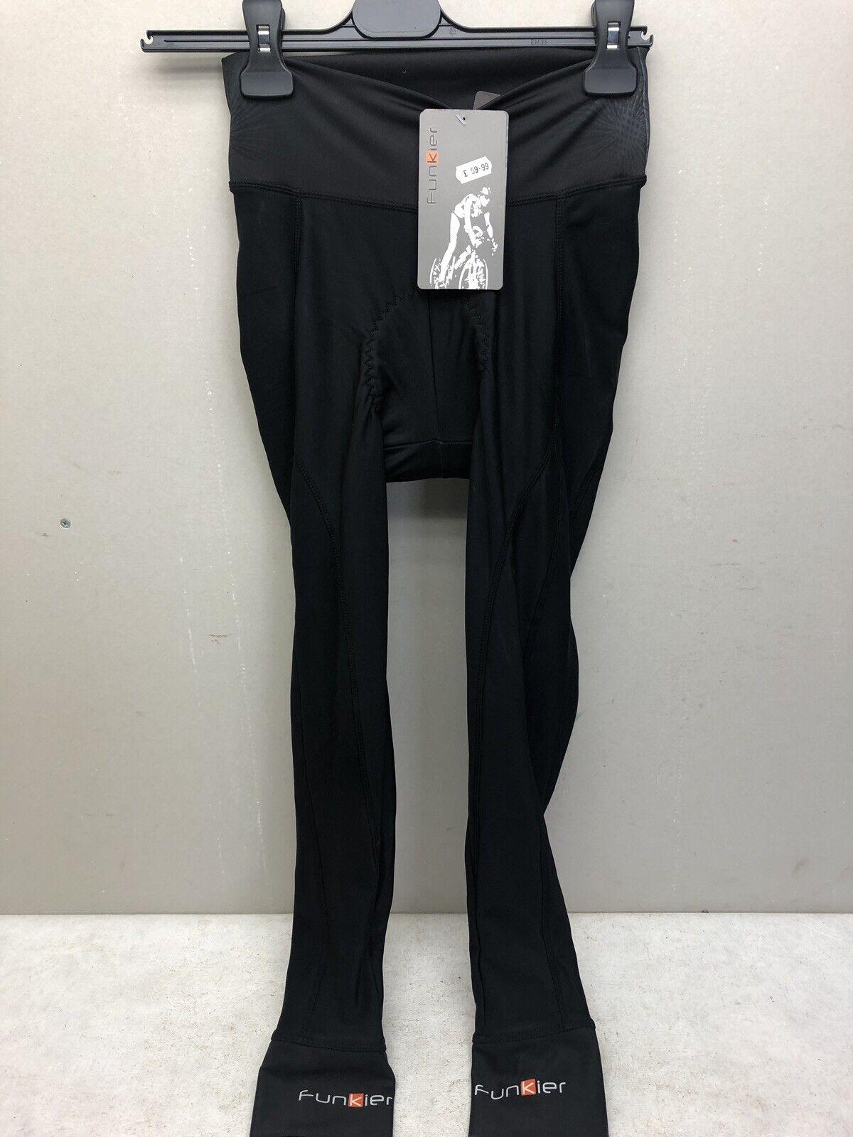 Funkier Polesse Ladies Calzas térmica activa en negro (S-138-W-B13) Talla XL