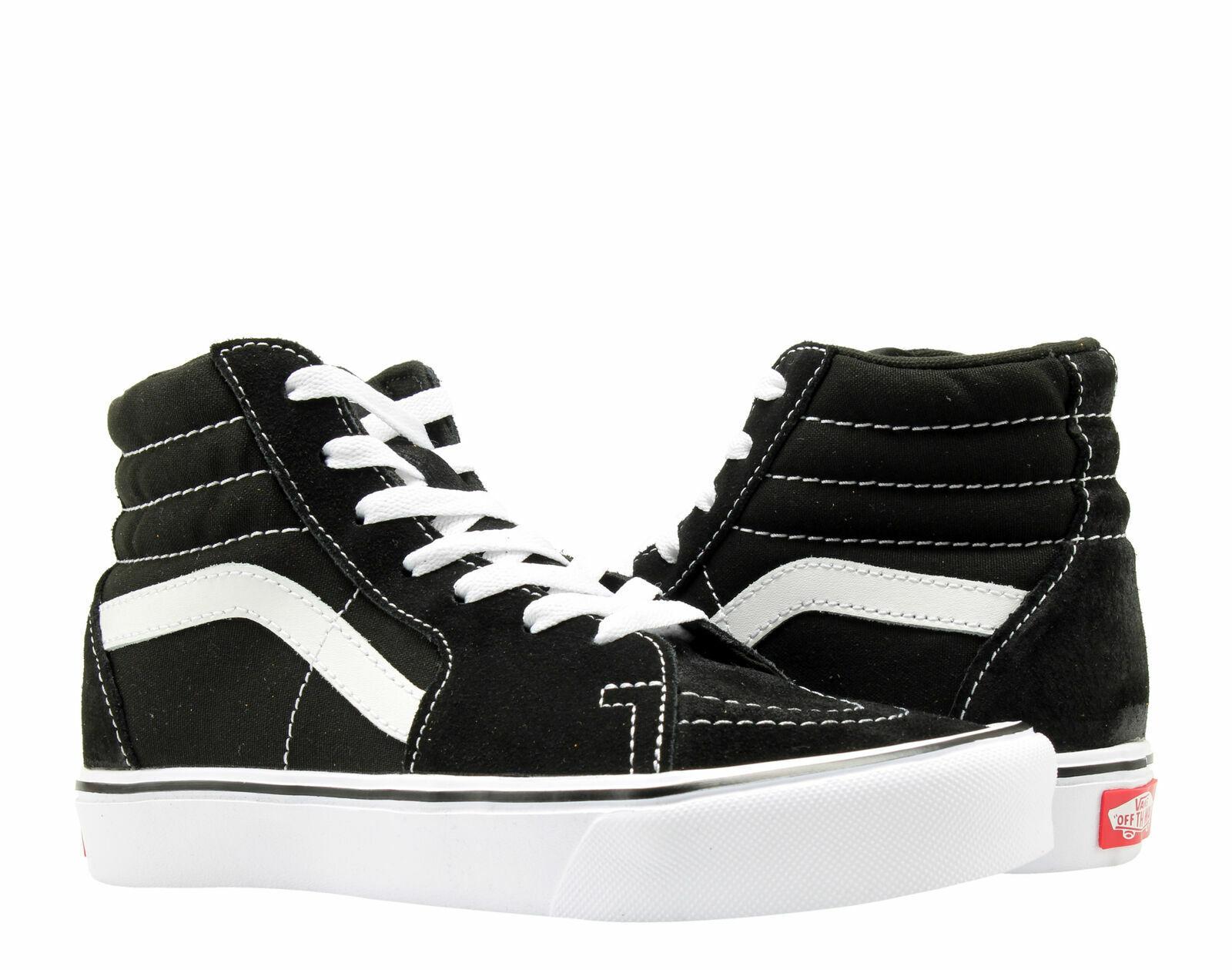 Купить Vans Sk8-Hi Lite Black White Hi