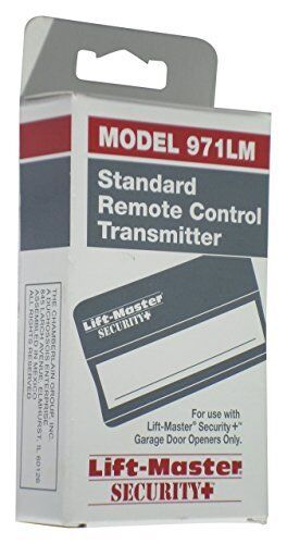 Standard Remote Control Transmitter for Lift-Master Security