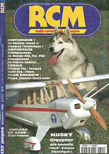 RCM N°211 PLAN : FLIPPO / PIPER PAWNEE / HUSKY GRAUPNER / PLANEUR F3J / F3A-F4C