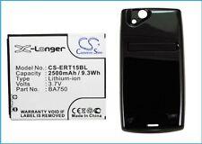 Akku für Sony Ericsson Xperia Arc, LT15a, LT15i , Li-ion, 2500 mAh