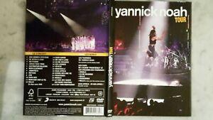 YANNICK-NOAH-Tour-2011-2-DVD-NEUF