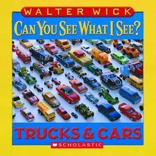 Can You See What I See?: Trucks and Cars by Walter Wick (2007, Board Book)