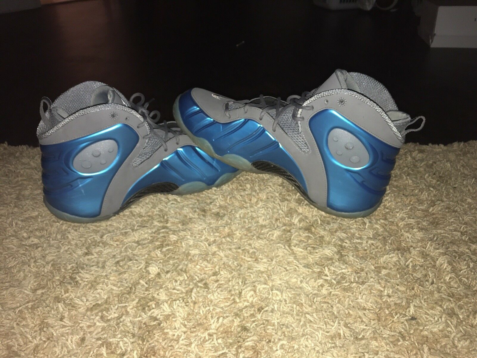 Penny Hardaway Authentic Nike Zoom Rookie (bluee chrome)