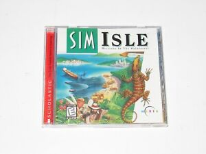 Sim Isle PC Game Complete 1996 Simulator
