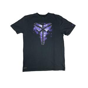 Kobe-Bryant-Men-039-s-Large-Black-Mamba-Nike-Shirt-Purple-Dri-Fit-Signature-Limited