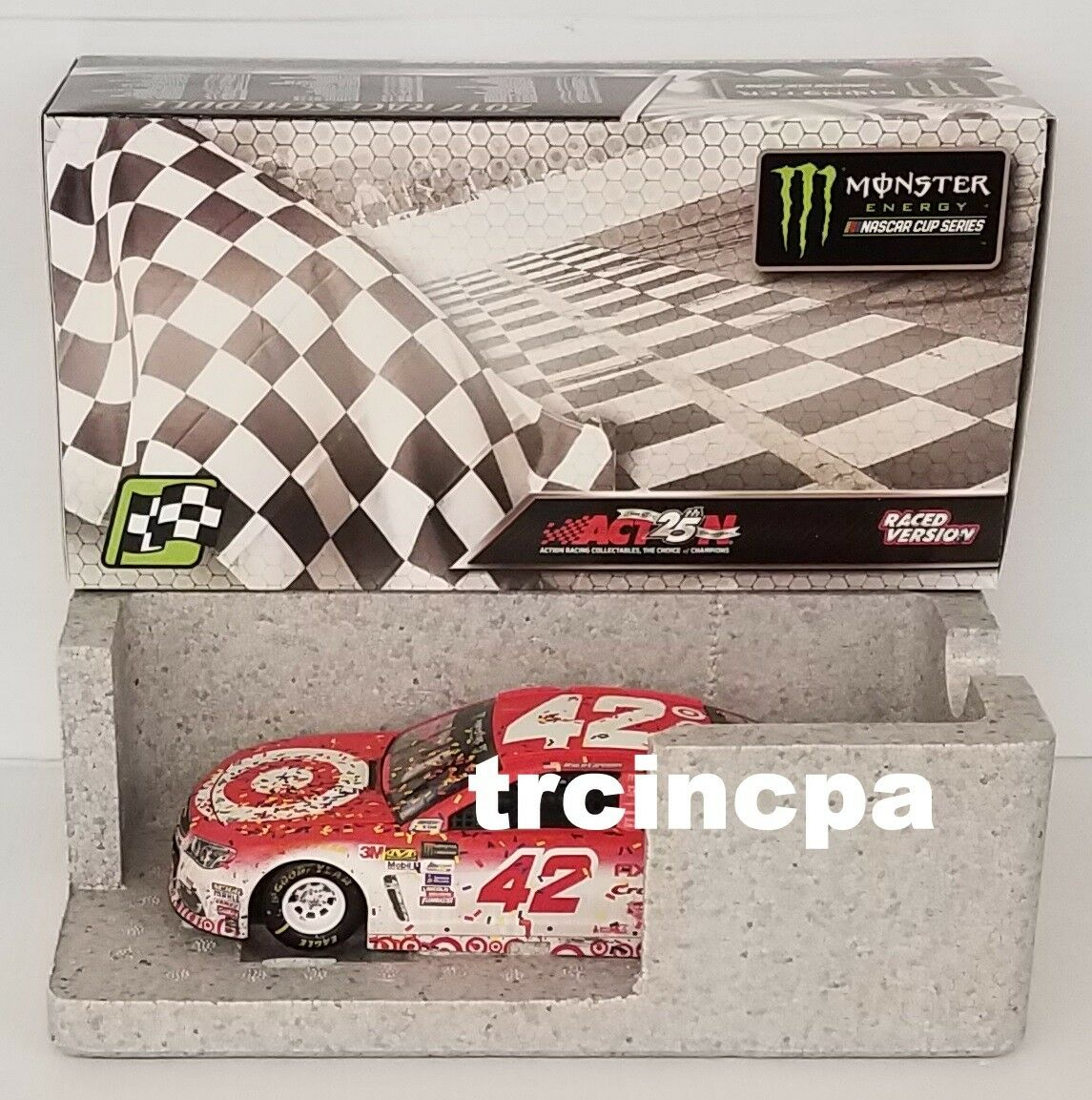 Kyle Larson 2017 Lionel Collectibles biancao Richmond corrió Win 1 24 Gratis