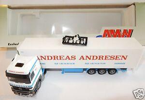 AWM-HERPA-HO-1-87-MB-MERCEDES-ACTROS-CAMION-SEMI-REMORQUE-ANDREAS-ANDRESEN-BOX