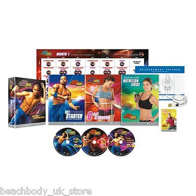Shaun T's Hip Hop Abs DVD Fitness Workout Programme: No Sit-ups Required!