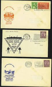 Ee. Uu. Canal Zona 1930's Cinco Paquebot Posted en el Mar Cubiertas