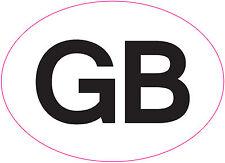 [ 180x130mm ] GB | Car/Van/Truck Sticker | European legal requirement.