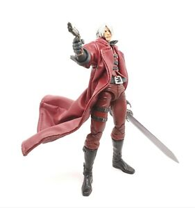Details about Red Faux Leather Trench Coat for NECA Devil May Cry Ultimate  Dante (No Figure)