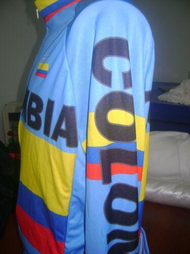 COLOMBIA BIKE JERSEY CAFE DE COL BIKE SHIRT SIZE S COOL COLUMBIA LONG SLEEVES