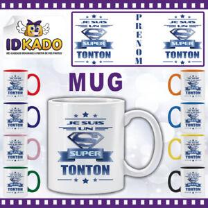 Mug-tasse-JE-SUIS-UN-SUPER-TONTON-personnalise-avec-Prenom-Ref-MB59