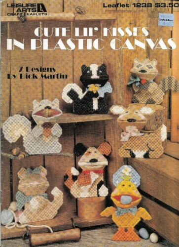 LEISURE ARTS Plastic Canvas PATTERNS HOME DECOR /&more  **You Choose
