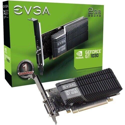 EVGA GeForce GT 1030 Graphic Card Low-profile 2 GB GDDR5