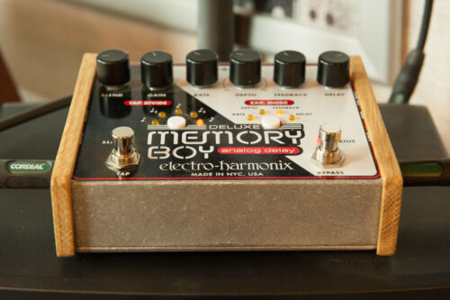 Electro Harmonix Holz Seitenteil Wood Side Panel End Cheeks Memory Man Synth etc