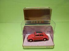 DINKY TOYS DY6C VW VOLKSWAGEN BEETLE 1951 SPLIT WINDOW - RED 1:43 - GOOD IN BOX