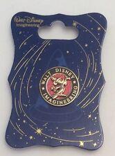 WDI Sorcerer Mickey Walt Disney Imagineering Exclusive Logo Pin Gold Red