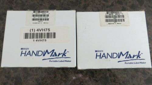 Brady HandiMark Red Ribbon Cartridge No.42013  4VH75