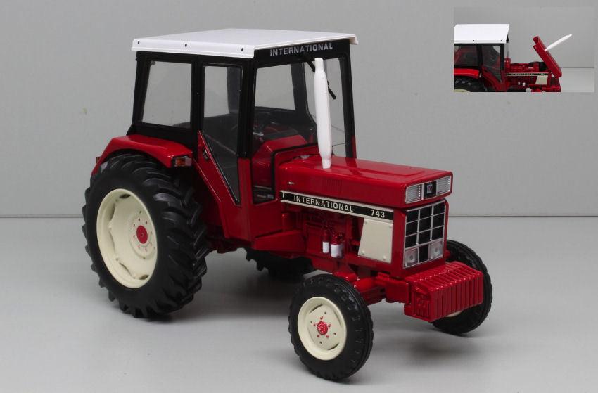 IH 743 Trattore Tractor 1 32 Model REPLICAGRI