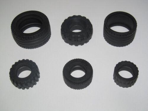 Lego ® Pneus pour Roue Voiture Camion Moto Car Truck Tires Choose Model NEW