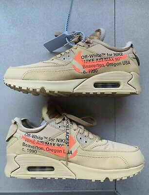 Vnds Nike Air Max 90 Off White Desert Ore Aa7293 200 Men S Size