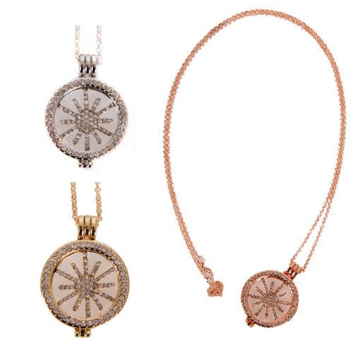 URBAN MIST Lagenlook Fashion Jewellery Diamante Snow Flake Pendant Necklaces
