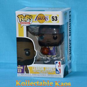 NBA-Basketball-LeBron-James-L-A-Lakers-Purple-Uniform-Pop-Vinyl-RS-53