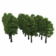 27x Miniature Trees Model Layout Dollhouse Park Stree Scene Wargame HO OO Scale