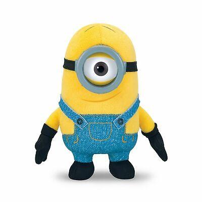 "New Despicable Me Minion Stuart Plush Toy 6/"" Thinkway Universal Illumination"